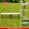 6ft White blow moulding plastic Patio Folding Bench