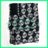 voile skull head print scarf LC112