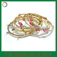 Unique Spike Gold Bangles Set For Girls