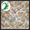 Leaf Design Printed Polyester Shower Curtain Fabric