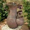 Cascade Jar Polyresin Water Solar Fountain(CE/SGS/UL)