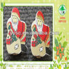 Christmas wooden peg decoration