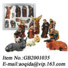 resin nativity figurines nativity christmas decoration