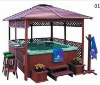 ATS-01 Outdoor Antisepsis Wooden Gazebo For Jacuzzi