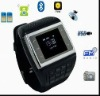Quad-band dual card dual standby Music Watch phone VE77 New Listing