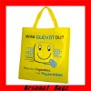 Promotional non woven bag with silk screen printing