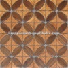solid wood mosaic wood wall tile LIREN-407