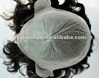 All skin wig with human hair