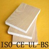 Magnesium cabinet board with wood veneer