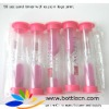 1min 30 seconds/90 second sand timers for children,sand timer with pink sand logo print