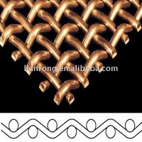 crimped wire mesh for filters