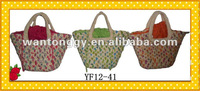 New Design Cornhusk Hand Made Bag