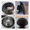 ANSI C45 industrial machining hard teeth transmission chain sprocket