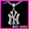 NY charm pendant