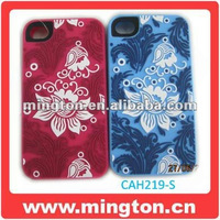Embossing Mobile phone silicone case for iphone5