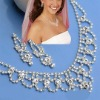 Bridal RHINESTONE JEWELRY Sets,wedding Necklace