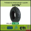 European Standard Natural Rubber Baby Tyre, Kids Scooter Tyre200*50