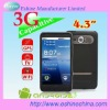 "New 4.3"" smartphone 3G Android phone Dual SIM PAD capacitive touchscreen cellphone mobile phone 5MP camera smart phone GPS"