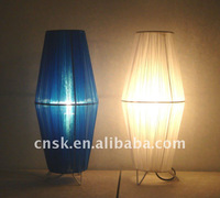 2012 fashion modern galloon shade decoration lamp