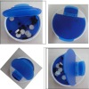 plastic round pill box NPB029