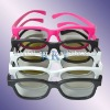 Plastic circular polarized 3d glasses for movie theater