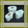 Colorful printed gift boxes , decorative gift boxes,antique wooden&paper gift box