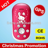 Q2 cartoon kids phone gsm gps small size gps tracker kids toys