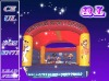 2012 (Qi Ling) cheap inflatable theme bouncer for kids playing