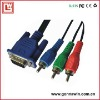 vga to 3rca component cable