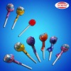 6g Round Ball Fruit Flavor Lollipop