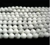 white Turquoise beads semi-finished products