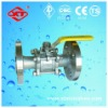 3PC Flanged end Ball Valve CF8