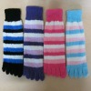 Color Toe Socks for sleeping material