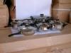 12 pcs nonstick steel cookware set brand(WDS-T22)