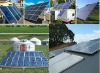 hot!!!Solar Home Grid Power system(on/off grid in one system)