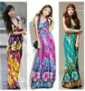 2012 fashion new style wholesale maxi dresses long from factory
