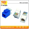Modular Cat5e Keystone Jack Unshield Type