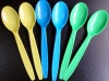 color PS PP disposable plastic spoon