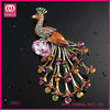 Fabulous Gold Costume Jewelry Metal Crystal Brooch