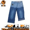 2012 hot selling men's short denim jean