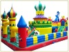Inflatable children castle