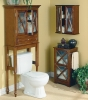 wooden bathroom cabinet set