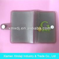 Soft PVC bank card holder