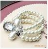 pearl beads bracelets, white pearl bracelet, round pearl bracelet