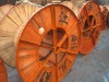 1000mm size steel and wooden cable spool