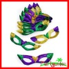 Mardi Gras Budget Sequin Cat Eye Masks