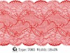 fasion elastic nylon lace trim