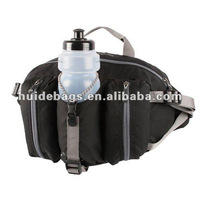 2012 hiking waist bag with bottle pouch