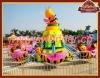 Lovely amusement park rides honeybee