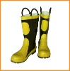 Fire protective boots/ steel toe/ fire fighting boots/ work shoes/ safety boots/ fireman boots/ rubber boots